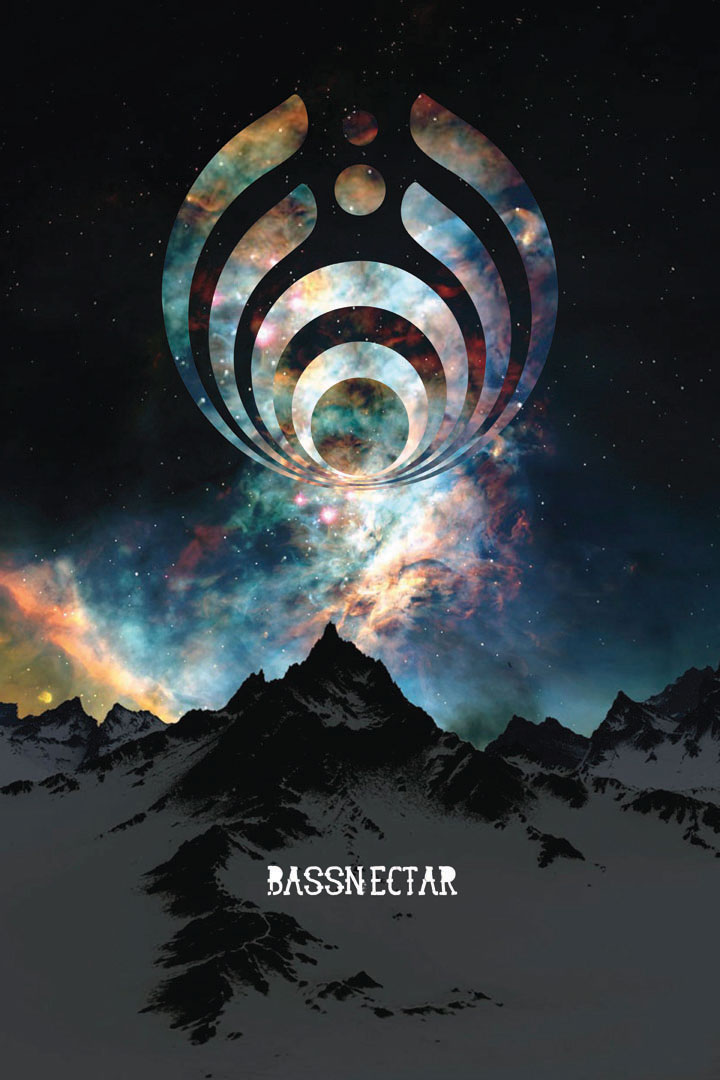 Bassnectar poster I made in photoshop