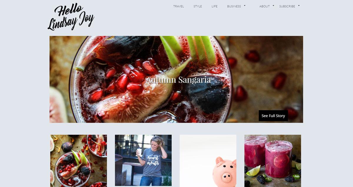 Lindsay Joy's homepage